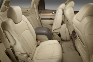Second-row and optional center console.