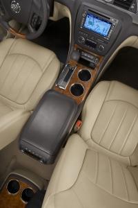 2008 Buick Enclave - sliding center console.