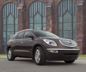 2008 Buick Enclave with 20-inch Wheel