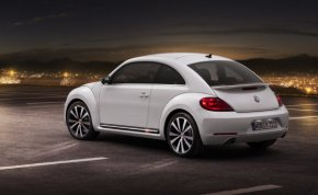 Side view of the 2012 Beetle